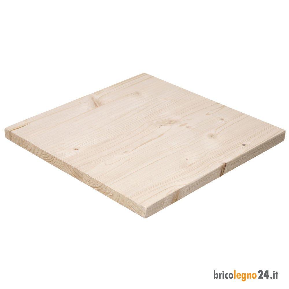Legno Online Su Misura pannello in lamellare di legno di abete mm.18